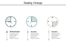 Dealing Change Ppt Powerpoint Presentation Outline Graphics Tutorials Cpb