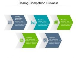 Dealing Competition Business Ppt Powerpoint Presentation Pictures Rules Cpb