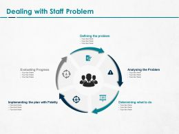 Dealing With Staff Problem Ppt Powerpoint Presentation Summary