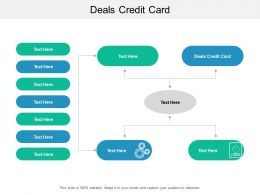 Deals Credit Card Ppt Powerpoint Presentation Infographics Rules Cpb