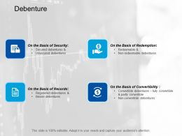 Debenture Business Marketing Ppt Summary Designs Download