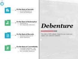 Debenture Convertibility Ppt Powerpoint Presentation Gallery Deck