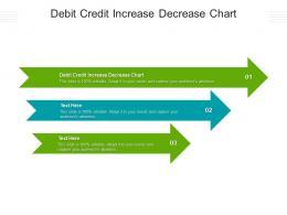 Debit Credit Increase Decrease Chart Ppt Powerpoint Presentation Gallery Good Cpb