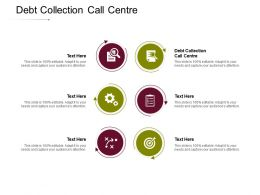 Debt Collection Call Centre Ppt Powerpoint Presentation Model Cpb