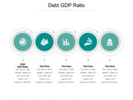 Debt GDP Ratio Ppt Powerpoint Presentation Professional Outline Cpb