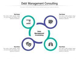 Debt Management Consulting Ppt Powerpoint Presentation Portfolio Skills Cpb