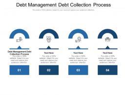 Debt Management Debt Collection Process Ppt Powerpoint Presentation Visual Aids Cpb