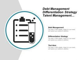 Debt Management Differentiation Strategy Talent Management Communications Skills Cpb