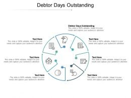 Debtor Days Outstanding Ppt Powerpoint Presentation File Samples Cpb