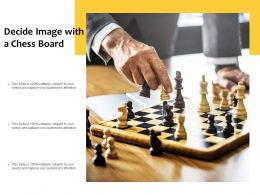 Decide Image With A Chess Board