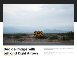 Decide Image With Left And Right Arrows