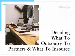 Deciding What To Outsource To Partners And What To Insource Powerpoint Presentation Slides