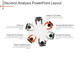 Decision Analysis Powerpoint Layout