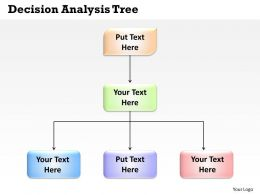 Decision Analysis Tree Powerpoint Slides Presentation Diagrams Templates