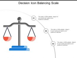 Decision Icon Balancing Scale