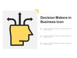 Decision Makers In Business Icon