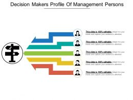 Decision Makers Profile Of Management Persons