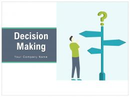 Decision Making Arrows Automation Business Strategies Organization Goals Importance