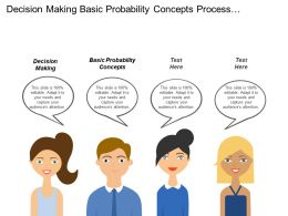 Decision Making Basic Probability Concepts Process Capability Assessment