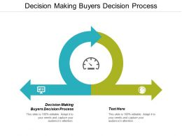 Decision Making Buyers Decision Process Ppt Powerpoint Presentation Styles Vector Cpb