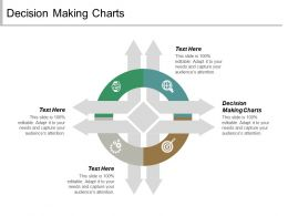 Decision Making Charts Ppt Powerpoint Presentation Summary Files Cpb