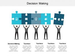 Decision Making Ppt Powerpoint Presentation File Format Ideas Cpb