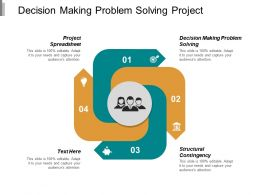 Decision Making Problem Solving Project Spreadsheet Structural Contingency Cpb