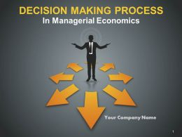 Decision Making Process In Managerial Economics PowerPoint Presentation With Slides