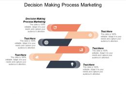 Decision Making Process Marketing Ppt Powerpoint Presentation Professional Icon Cpb