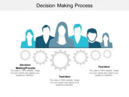 Decision Making Process Ppt Powerpoint Presentation File Formats Cpb
