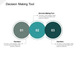 Decision Making Tool Ppt Powerpoint Presentation Infographic Template Show Cpb