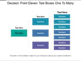 decision_point_eleven_text_boxes_one_to_many_Slide01