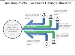 decision_points_five_points_having_silhouette_Slide01