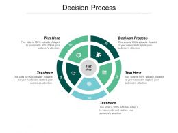 Decision Process Ppt Powerpoint Presentation Gallery Background Designs Cpb