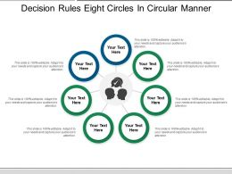 Decision Rules Eight Circles In Circular Manner