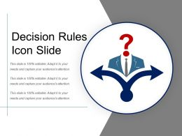 Decision Rules Icon Slide