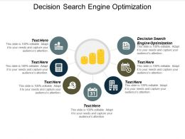 Decision Search Engine Optimization Ppt Powerpoint Presentation Summary Designs Cpb