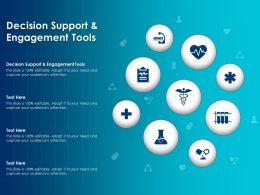 Decision Support And Engagement Tools Ppt Powerpoint Presentation Icon Grid