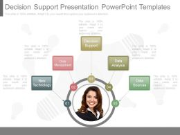 Decision Support Presentation Powerpoint Templates