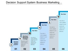 Decision Support System Business Marketing Strategy Corporate Strategy Cpb