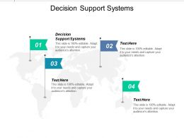 Decision Support Systems Ppt Powerpoint Presentation Icon Introduction Cpb