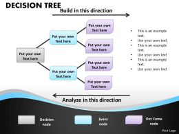 Decision Tree PPT flow chart 16
