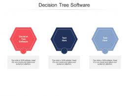 Decision Tree Software Ppt Powerpoint Presentation Outline Format Ideas Cpb