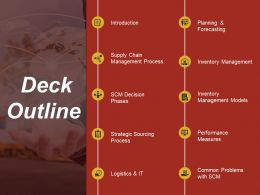 Deck Outline Powerpoint Images