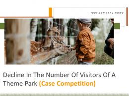 Decline In The Number Of Visitors Of A Theme Park Case Competition Complete Deck