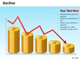 42642328 Style Concepts 1 Decline 1 Piece Powerpoint Presentation Diagram Infographic Slide