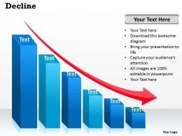 94192142 Style Concepts 1 Decline 1 Piece Powerpoint Presentation Diagram Infographic Slide