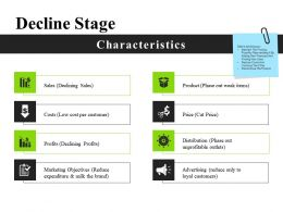 Decline Stage Powerpoint Slide Inspiration
