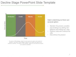 Decline Stage Powerpoint Slide Template