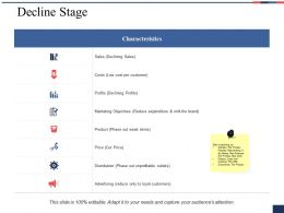 Decline Stage Ppt Styles Graphics Download